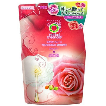 P&G Herbal Essences | Shampoo| NAMERAKA Smooth Shampoo Refill 340ml (Japan Import)