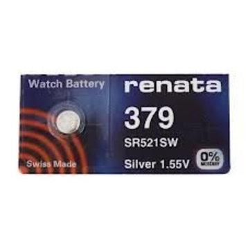 #379 Renata Watch Batteries 5Pcs: Health & Personal Care