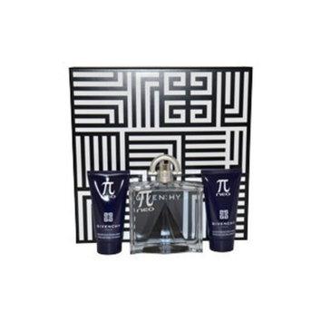 Pi Neo Givenchy For Men 3 Pc Gift Set 3.4oz Edt Spray 1.7oz Shower Gel 1.7oz After Shave