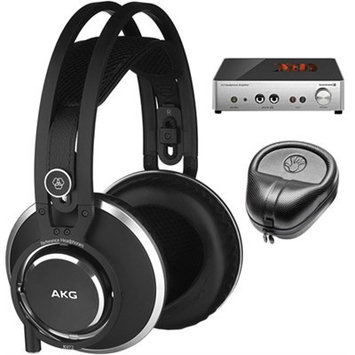 Akg. AKG Master Reference Closed-Back Studio Headphones K872 w/ A2 Amplifier Bundle