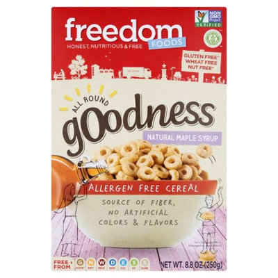 Freedom Foods North America Inc. Freedom Foods, Cereal All Round Maple, 8.8 Oz (Pack Of 6)
