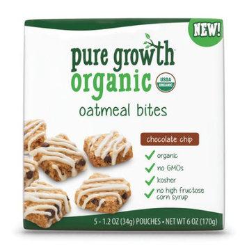 Pure Growth Organic Chocolate Chip Oatmeal Bite