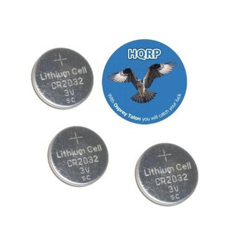 HQRP 3 Pack Battery fits CHEVROLET TAHOE 1997 1998 1999 2000 2001 2002 2003 2004 Remote Key + Coaster