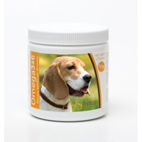Healthy Breeds 840235142416 Beagle Omega 3 & 6 Soft Chews - 60 count