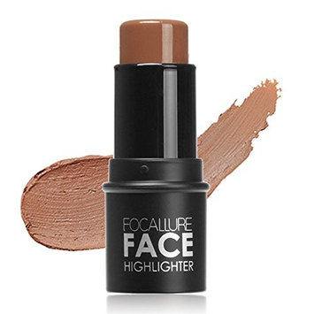 Huayang| 4 Type Choices Professional Long-Lasting Waterproof Face Highlighter Contour Multi Powder Stick Face Eye Foundation Makeup 3#