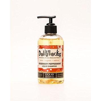 Dollylocks 8oz Rosemary Peppermint Liquid Dreadlock Shampoo