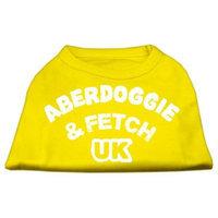 Ahi Aberdoggie UK Screenprint Shirts Yellow Lg (14)