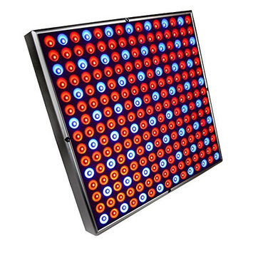 HQRP High-Power 225 LED Red & Blue Indoor Garden Hydroponic Plant Grow Light Panel / System 45 Watt plus Hanging Kit + HQRP UV Meter