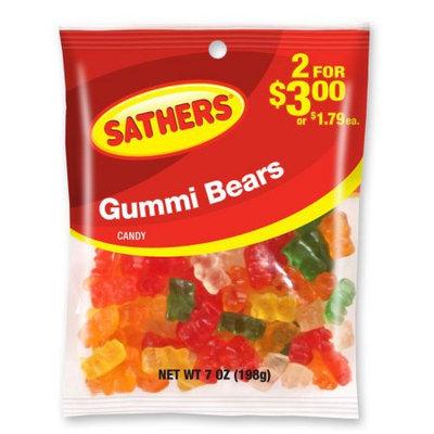 Ferrara Candy Company Sathers Gummy Bears Candy, 7 Ounce Bag