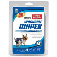 Simple Solution Washable Reusable Female Dog Diapers