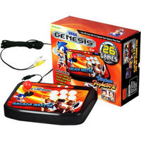 Atgames Arcade Master - Tabletop Console with Built-In SEGA Games Black