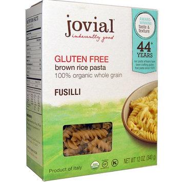 Jovial, Brown Rice Pasta, Fusilli, Gluten Free, 12 oz (340 g)(Pack of 3)