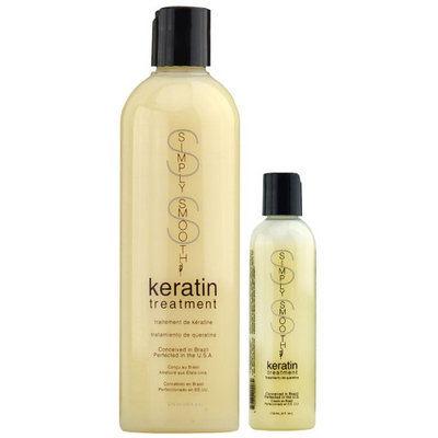 Simply Smooth Brazilian Keratin Treatment Original Formula Reparative Hair 4 oz (EA)