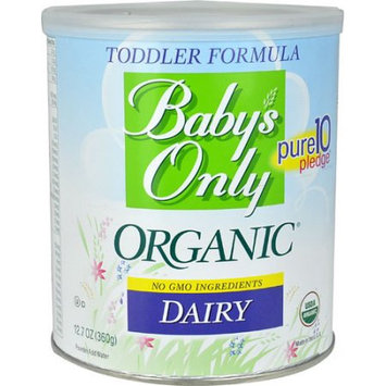 Baby's Only Essentials Baby's Only Organic Milk-Based Formula, Powder, with Iron, 12.7 Oz