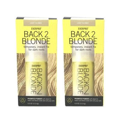 Set of 2 Everpro Back 2 Blonde Temporary Instant Fix Light Blonde Hair Color Spray