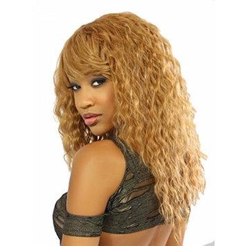 Michelle Human Hair Blend Weave Spanish Wave Curl (18