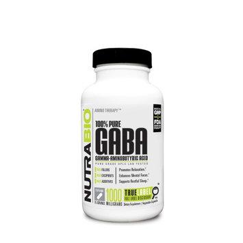 Nutra Bio NutraBio GABA 500 mg Vegetable Capsules, 150 Ct