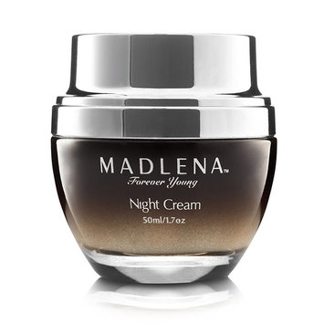 Madlena Advanced Anti-Aging Face & Neck Night Cream for Women - Powerful Anti-Wrinkle Beauty Care - Fade Lines, Repair Blemishes, Restore Skin...