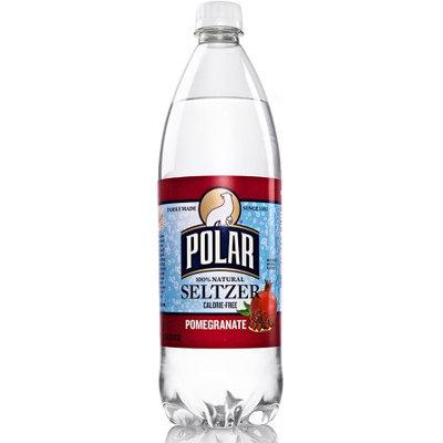 Polar Seltzer Water, Pomegranate, 33.8 Fl Oz