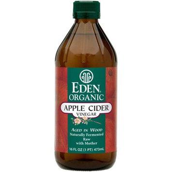 Eden Organic Apple Cider Vinegar, 16 fl oz, (Pack of 3)