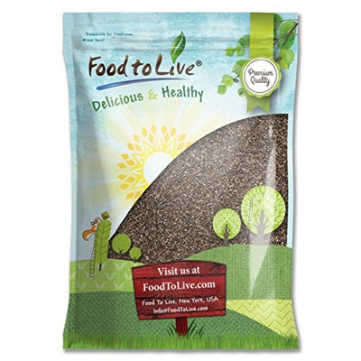 Food To Live ® Chia Seeds (50 Pounds)