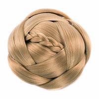 Braided Chignon Bun Donut Hairpieces Synthetic Hair Scrunchie Clip on Hair Bun Wedding Accessories doup 6Colors avilable