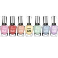 Sally Hansen Complete Salon Manicure Aflorable, Pardon My Garden, Poof! Be-gonia, What In Carnation