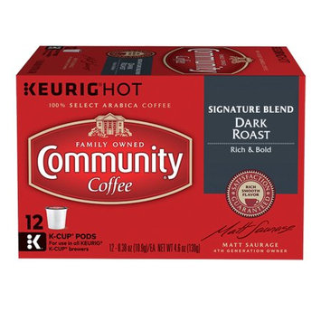 Keurig Community Coffee K-Cup Pods, Signature Blend, 12 Count, 3 Pack