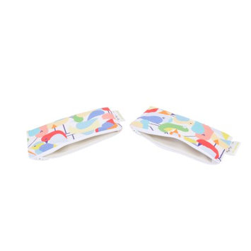 Itzy Ritzy Snack Happens Mini Bag, 2-Pack Robin in the Hood - Itzy Ritzy Diaper Bags & Accessories