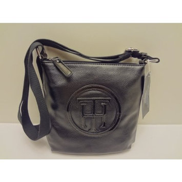 Tommy Hilfiger Crossbody Faux Black Leather