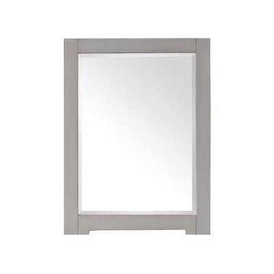 Avanity Kelly 32 in. L x 24 in. W Framed Wall Mirror in Grayish Blue