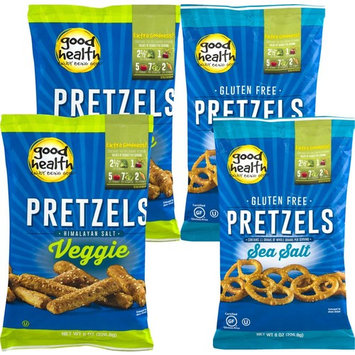 Good Health Gluten Free Pretzels & Good Health Veggie Pretzels Variety 4-Pack