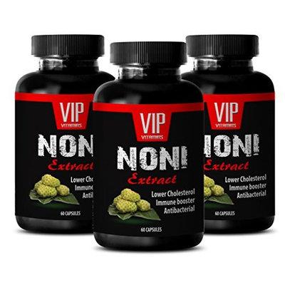 Pure noni capsules - NONI EXTRACT - Antioxidant boost - 3 Bottles 180 Capsules