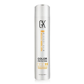 Global Keratin GKhair Moisturizing Conditioner Color Protection | Organic Oil Extracts - Sulfate,Paraben Free - For Damaged and Dry Hair Conditioning - Women & Men | All Hair Types - 10.1fl.oz/ 300ml