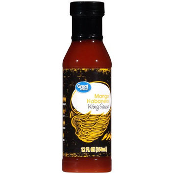 Wal-mart Stores, Inc. Great Value Mango Habanero Wing Sauce, 12 fl oz
