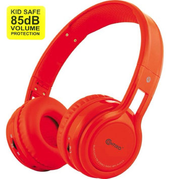 Contixo KB-2600 Kid Safe 85dB Over the Ear Foldable Wireless Bluetooth Headphone with Volume Limiter