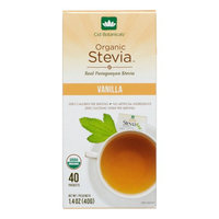 Cid Botanicals Organic Stevia Sweetener Packets, Vanilla, 1.4 Oz