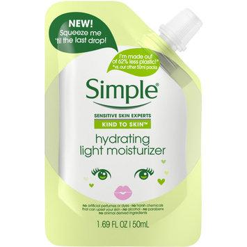 Simple Hydrating Light Moisturizer Pouch