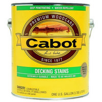 Cabot 11411 1 Gallon Decking Stain White