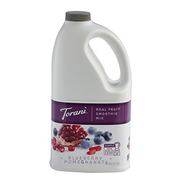 Torani Blueberry Pomegranate Smoothie Mixes, 64 Ounce