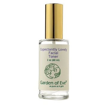 Garden of Eve Expectantly Lovely Facial Toner (Pregnancy safe / Normal/ Sensitive) Hydrating (Non-alcohol, Non-drying)(Certified Organic Ingredients) Fragrance-Free (No synthetic ingredients)-2 oz