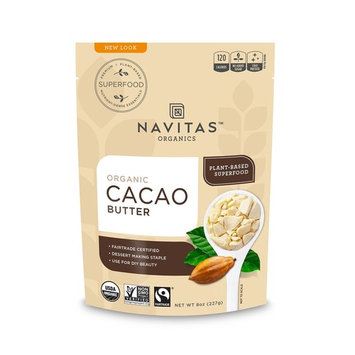 Navitas Organics Cacao Butter, 8 Ounce [Cacao Butter]