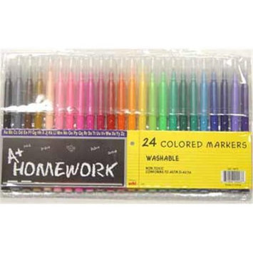 Ddi Bulk Buys Water Color Markers - 24 pack - Case of 48