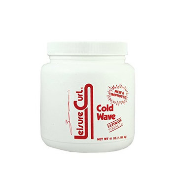 Leisure Curl Cold Wave Ultimate Strength 41 oz Hair Texturizer Curl Treatment | for Dry and Damaged Hair of All Types