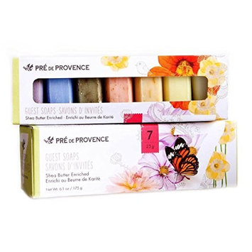 Pre de Provence Butterfly Luxury Collection Soap Gift Box, Set of 7