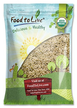 Food to Live ® Certified Organic HEMP SEEDS (Raw, Hulled) (18 Pounds)