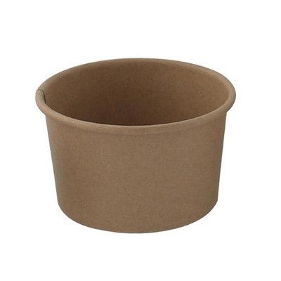 Packnwood 210SOUPK17K 16 oz Brown Kraft Soup Cup 3.8 x 3.9 in.