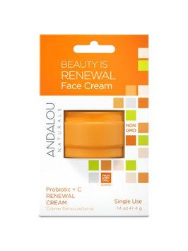 Beauty Is Renewal Face Cream Pod Andalou Naturals .14 oz Cream