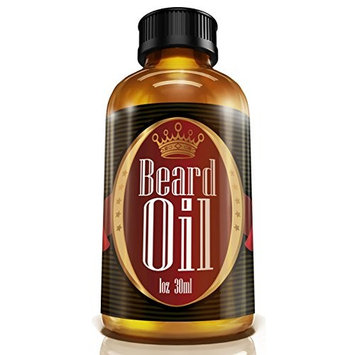 #1 Men's Choice Beard Oil - Fragrance Free, All Natural, 100% Pure Blend of Premium Ingredients: Conditioner that Promotes Awesome Beard Growth, Stops Itching, Tames Rogue Hairs, and Softens Harsh, Coarse Hair for Close Contact