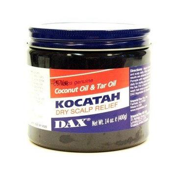 Dax Kocatah Dry Scalp 14 oz. Jar (3-Pack) with Free Nail File